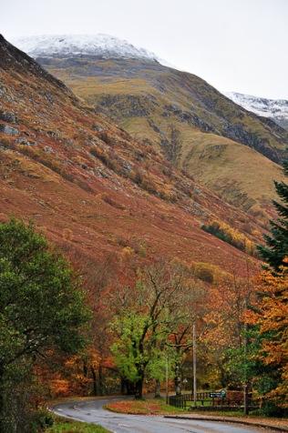 Glen Nevis Road To The Mountains