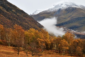 Mountain Mist at the foot of Ben Nevis