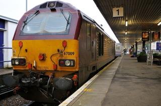 Sleeper train at Fort William