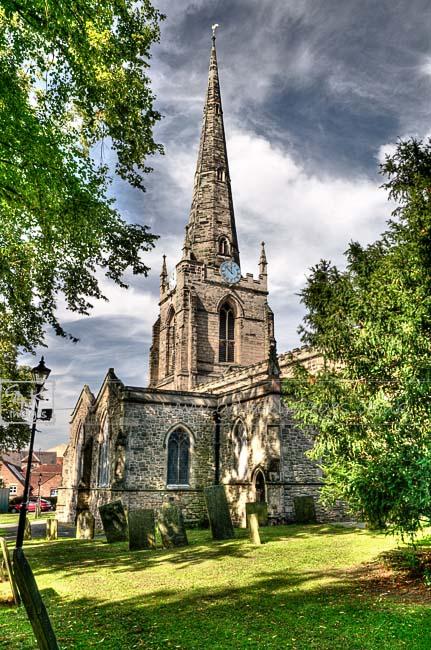 HDR image Church