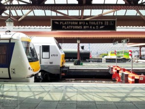 steam modern trains birmingham moor street railway station