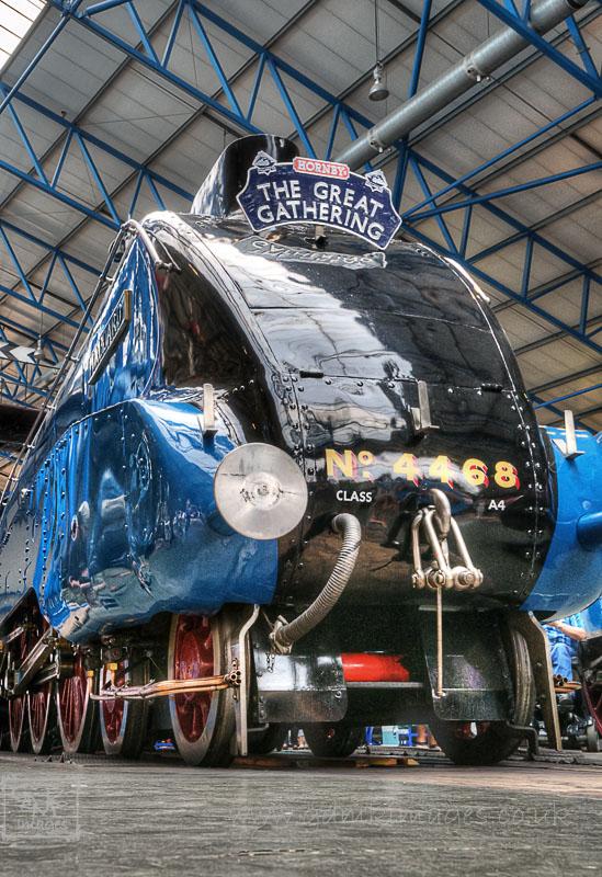 4468 Mallard Steam Loco