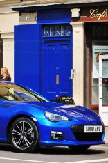weekly photo project Blue Car
