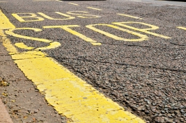 Weekly Colour Project - Yellow Bus Stop Road Markings