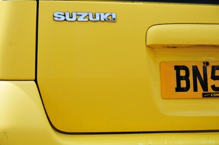 Weekly Colour Project - Yellow Suzuki